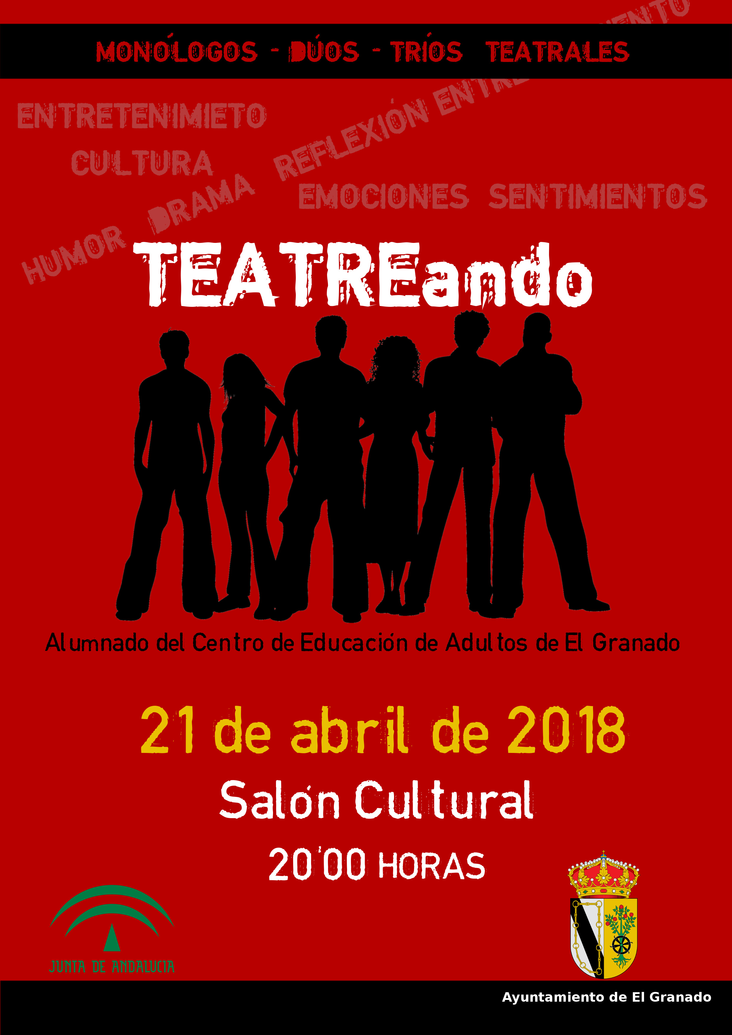 cartel teatro 21 de abril 2