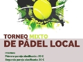 Torneo de padel local