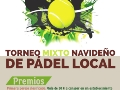 Torneo Mixto Navideño de Pádel Local